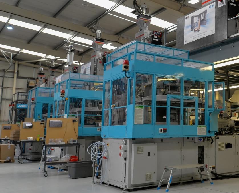2. Injection Stretch Blow Molding Lines at RD Leverage
