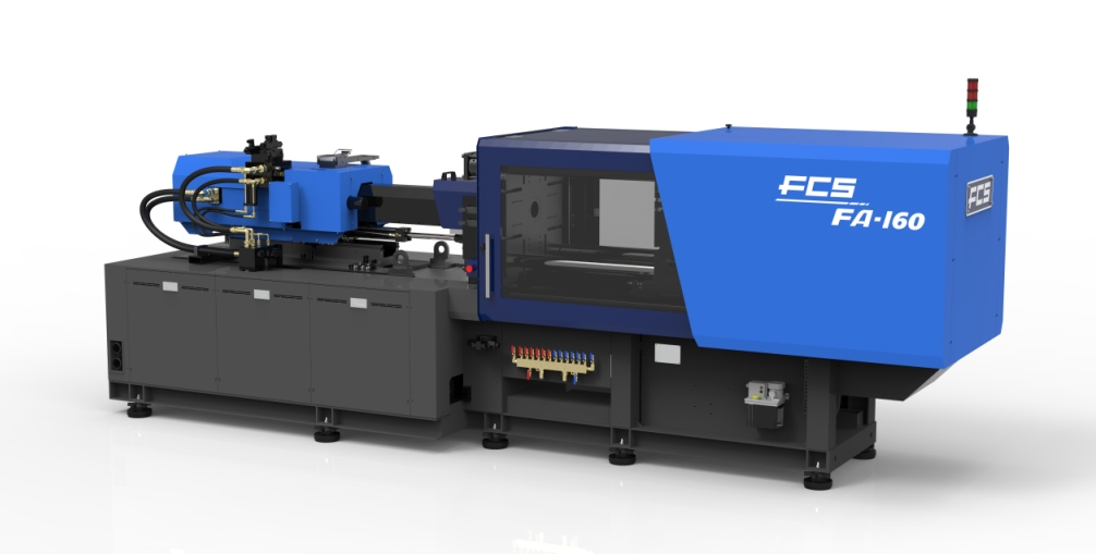 19-33-03 FCS injection moulding machine FA-160 side July 2019