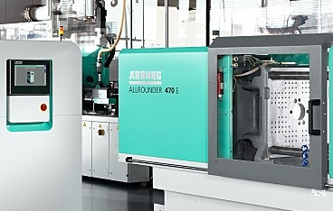 New injection moulding technology