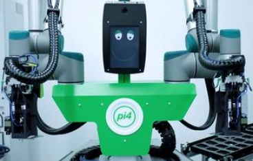 Humanoid robot proves itself in the plastic display panels production