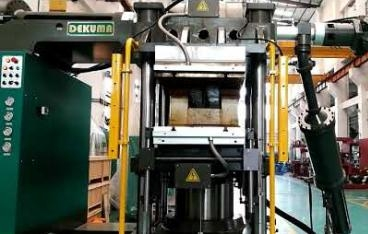 Rubber Injection Moulding Machine with Ejector movement