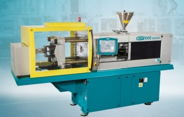 New hybrid injection moulding machines