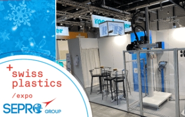 Sepro exhibited at Swiss Plastics Expo