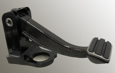 First all-plastic brake pedal for battery-electric sports car