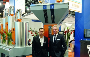 motan-colortronic introduced new systems during Plastpol