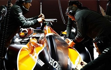3D printed parts to improve McLaren F1 performance