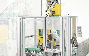Arburg at the Moldplas 2017: Automated overmoulding of inserts