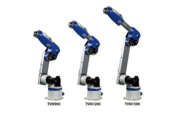 New vertically articulated robots from Toshiba Machine
