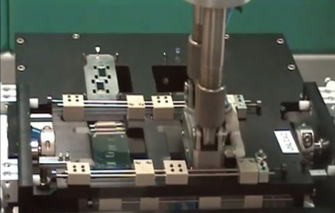 Injection mold and part assembly automation