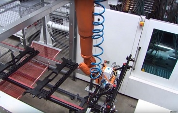 Kuka automation for injection molding